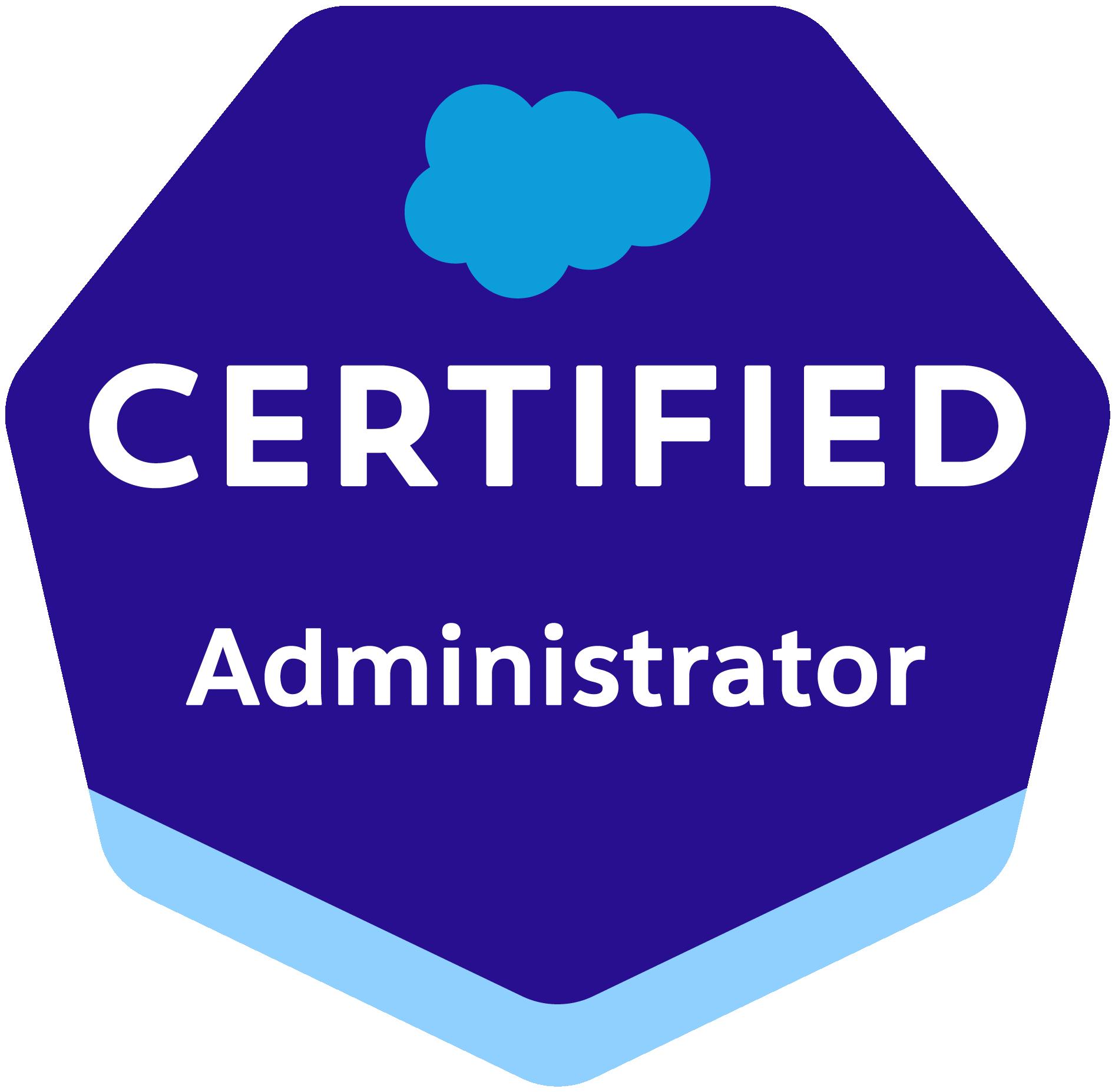 Admin Certification