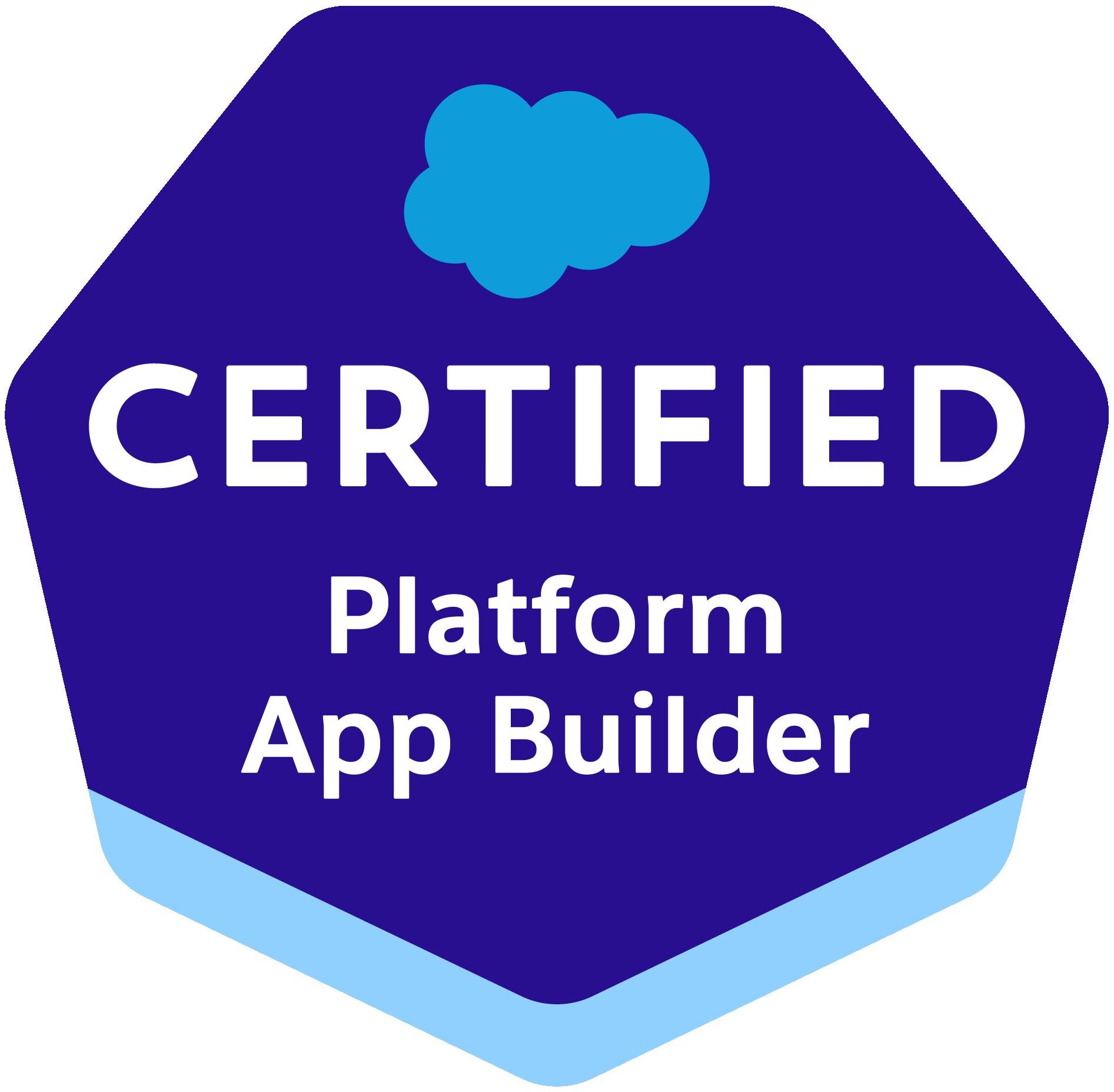 Platform App Builder Certification