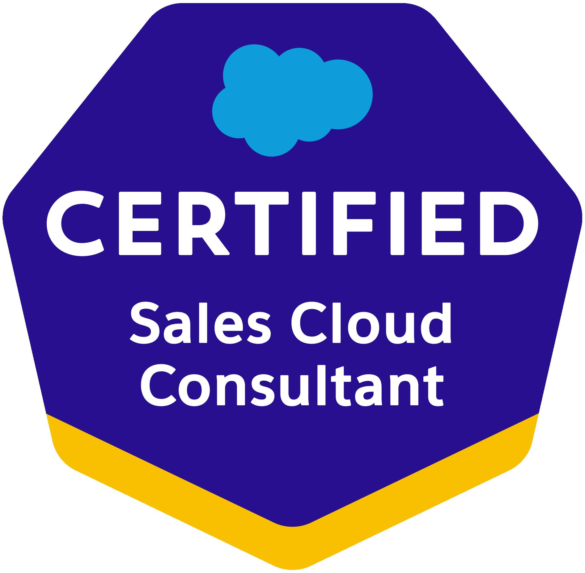 Salescloud Consultant Certification